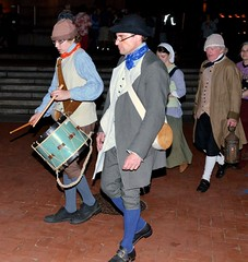 Parade to Sabin's Tavern - WaterFire - Gaspee Day - Photo by John Nickerson