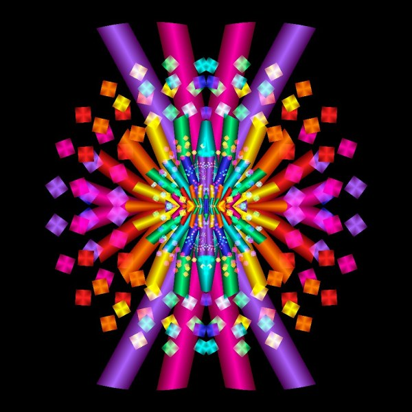 World' Of Fractals And Technicolor