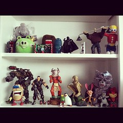 My toy shelf. You have one? Share it! #instameme