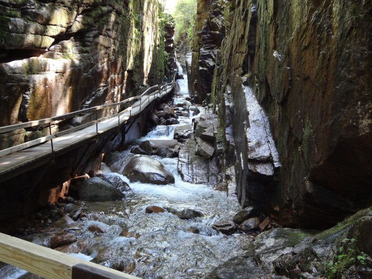 Entering Flume Gorge