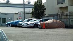 事故車など(神奈川県横浜市鶴見区)(Crashed cars, Yokohama, Japan)