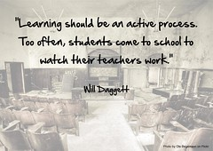 Learning As An Active Process by Mister Norris, on Flickr