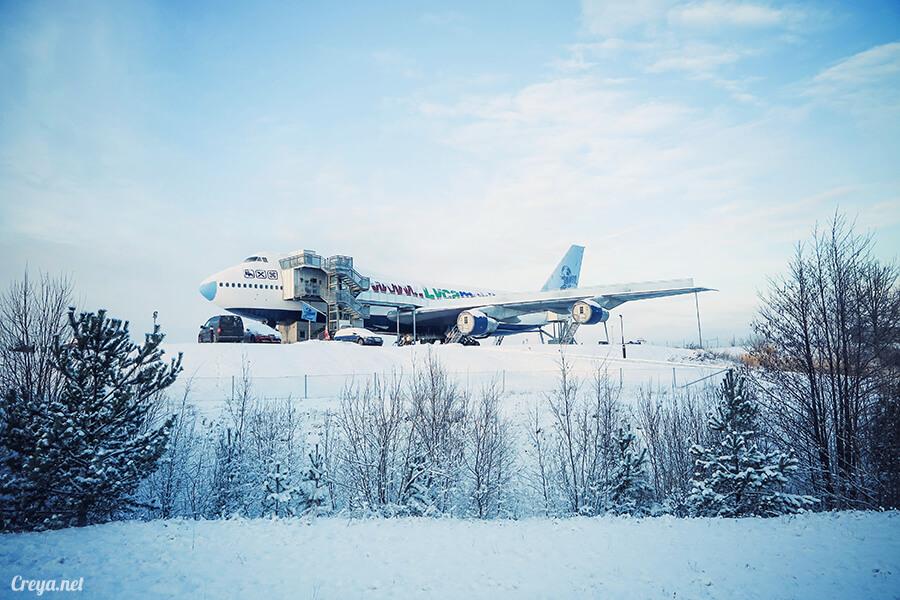 2016.07.08 | 看我歐行腿 | 只載去見周公的飛機,瑞典斯德哥爾摩機場旁的 Jumbo Stay 特色青年旅館07