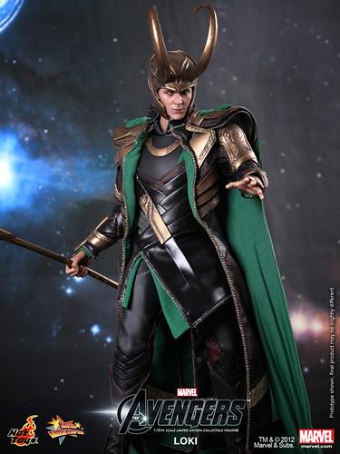The Avengers: 1/6th scale Loki