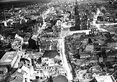 Vista aérea tras la Segunda Guerra Mundial (Mö...