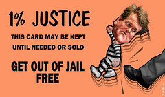 Get Out of Jail Free Card - 1% Justice
