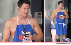 "Mark Wahlberg on the set of ""Pain and Gain"" (Photo credit: Hollywood_PR)"