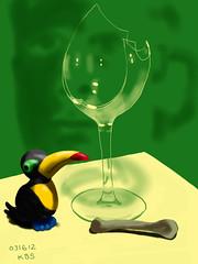 031612 Wine Glass Bone
