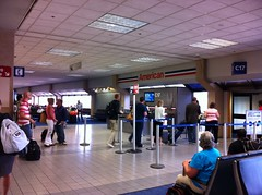 American Airlines Gate C17 at DFW. kane minks