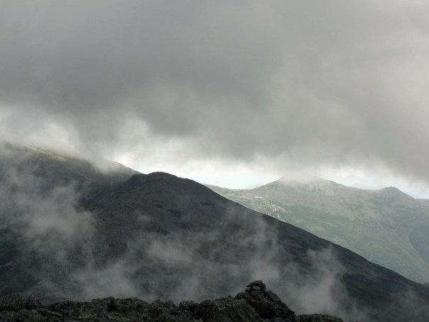 View of Mt. Washington from Mt. Jefferson Summit