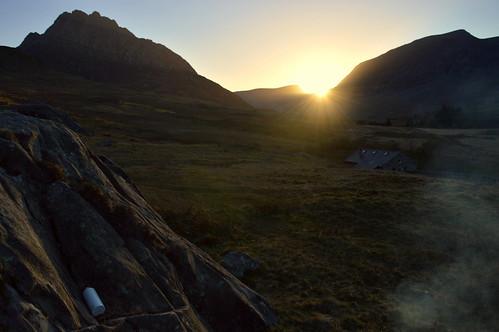 Sunset Over Tryfan