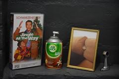 Schwarzenegger, Air Wick, poodle in pillows - ...
