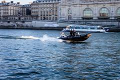 Quais de Seine - Police fluviale