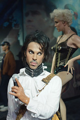 Prince at Madame Tussaud's New York