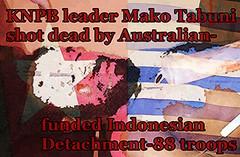 Mako Tabuni Shot Dead