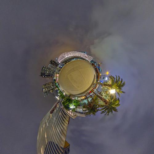 Webb Bridge Melbourne - Little Planet