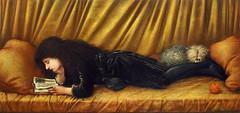 Edward Coley Burne-Jones 'Portrait of Katie Lewis' 1886