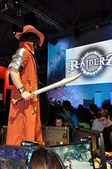 Raiderz-Stand auf der Gamescom