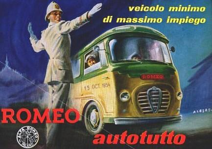 Il primo catalogo Romeo