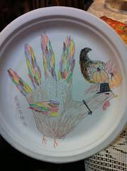 Hand Turkey by Kara