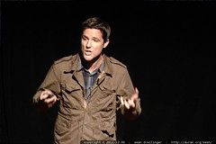 Jason Russell of Invisible Children speaks at ...