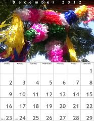 Oaxaca Calendar 2012: December