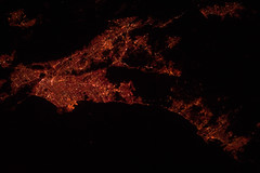 Los Angeles Area at Night (NASA, International...
