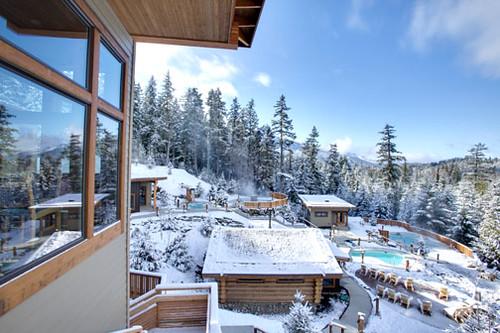 Nordic Spa and Finnish Sauna  Scandinave Spa Whistler