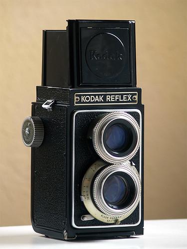 tlr film vintage reflex kodak 620 kodamatic