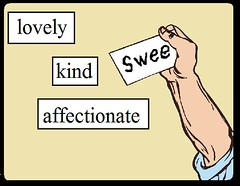 Adjective Magnet Words