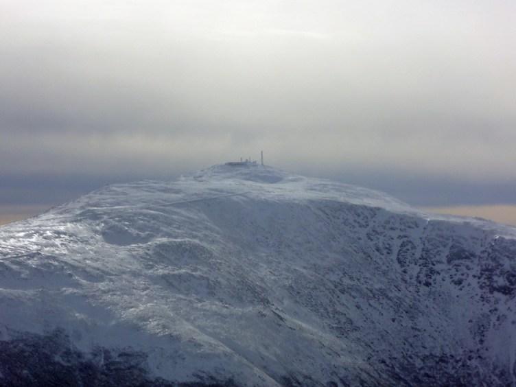 Mt. Washington Summit from Mt. Adams