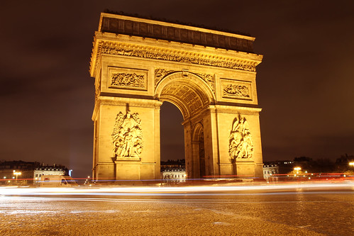 L'Arc de Triomphe - Paris 2011