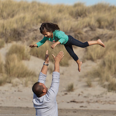 Love and Trust - Father tosses his confident d...