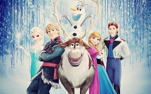 Today is all about...finally seeing Frozen