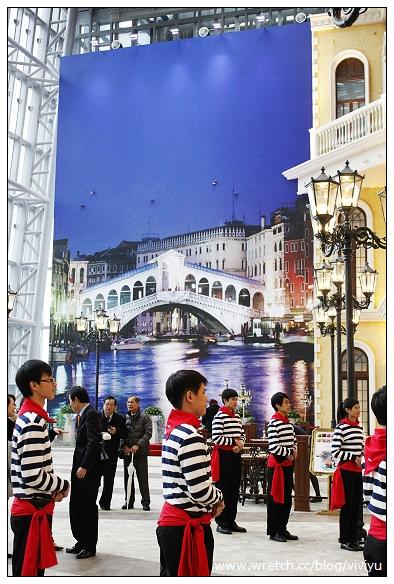 [旅遊]威尼斯渡船就在台灣~天冷也要逛逛 @VIVIYU小世界