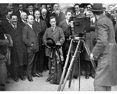 Rare sighting of a smiling Eamon de Valera