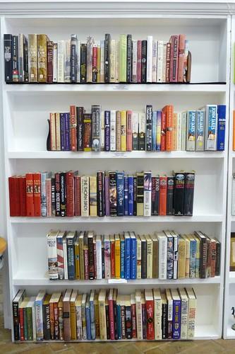Blue Train Books Historical Fiction Section