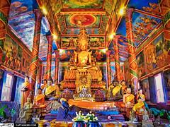 Golden Budda Temple Phnom Phen Cambodia