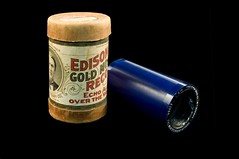 Edison Gold Mould Record wax cylinder