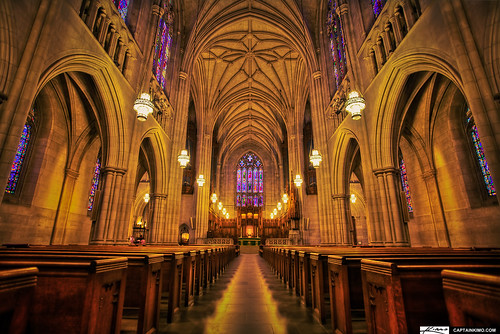 Duke University Chapel Durham North Carolina