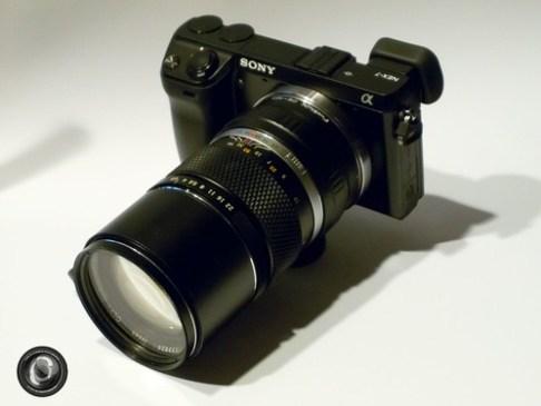 NEX-7 + Zuiko OM 135mm f/2.8
