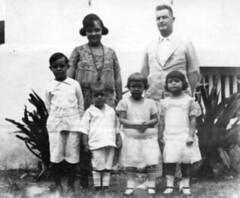 Ignacia Butler and Family