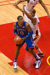 Thomas Robinson of the Kansas Jayhawks