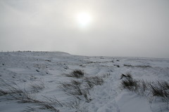 Saddleworth Moor in the Snow