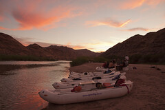Orange river night camp