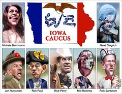 Iowa Caucus Characters