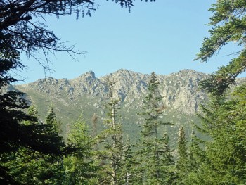 Mt. Washington Boott Spur as seen from the Tuckerman Ravine Trail