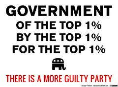 Gov't Of, By, and For the Top 1%