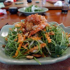 morning glory salad