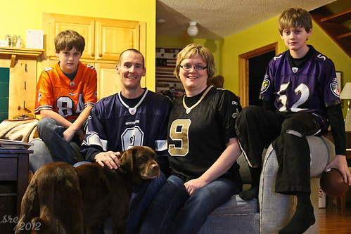 """February 5 -- Watching the big game • <a style=""""font-size:0.8em;"""" href=""""http://www.flickr.com/photos/7983687@N06/6827381705/"""" target=""""_blank"""">View on Flickr</a>"""